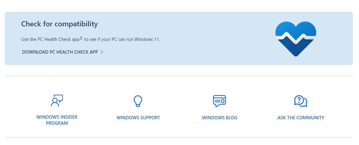 Windows 11 Health Check