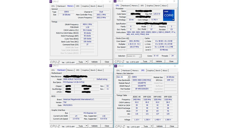 Chip Intel Core i9-12900K